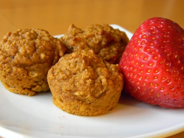 clean baking- pumpkin muffins 4