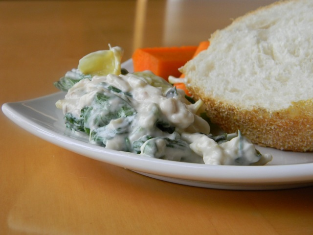 dairy free spinach dip 4