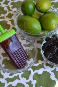 Homemade Blackberry Popsicle pics