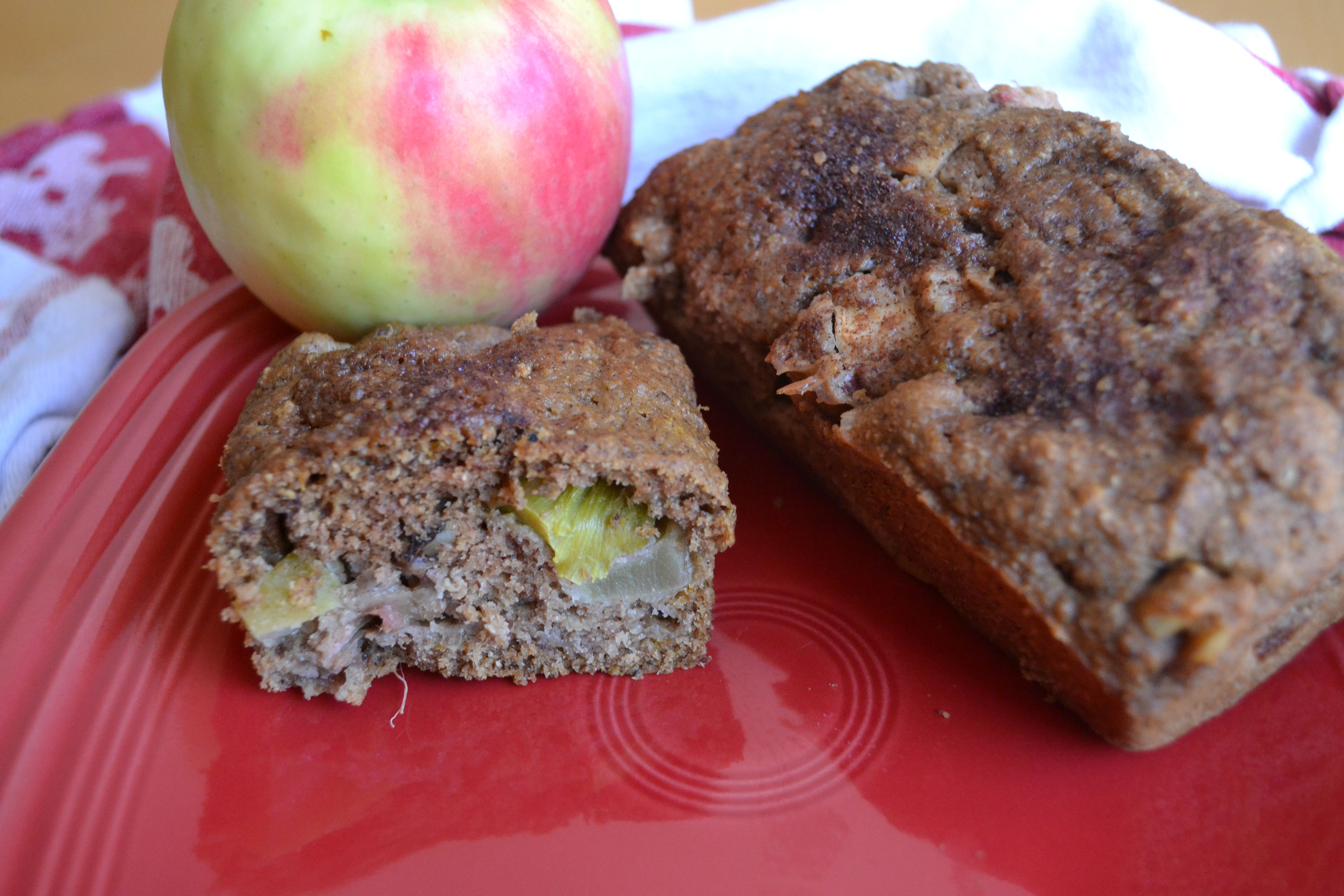Rhubarb Apple Bread5