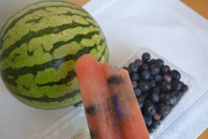Watermelon and Blueberry Popsicles1