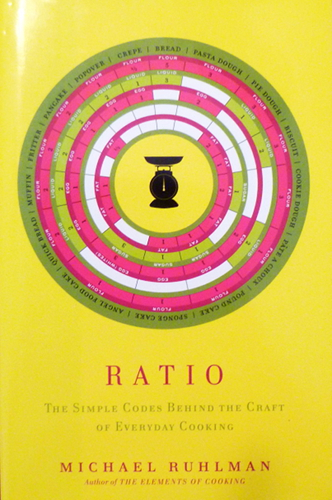 Cover of Ruhlman&#039;s Ratio Book