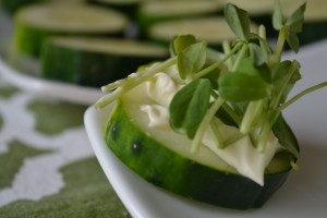 Food Matters Project: Cucumber and Wasabi Mayo