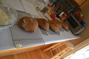 breads cooling