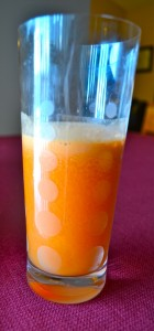 carrot apple orange juice