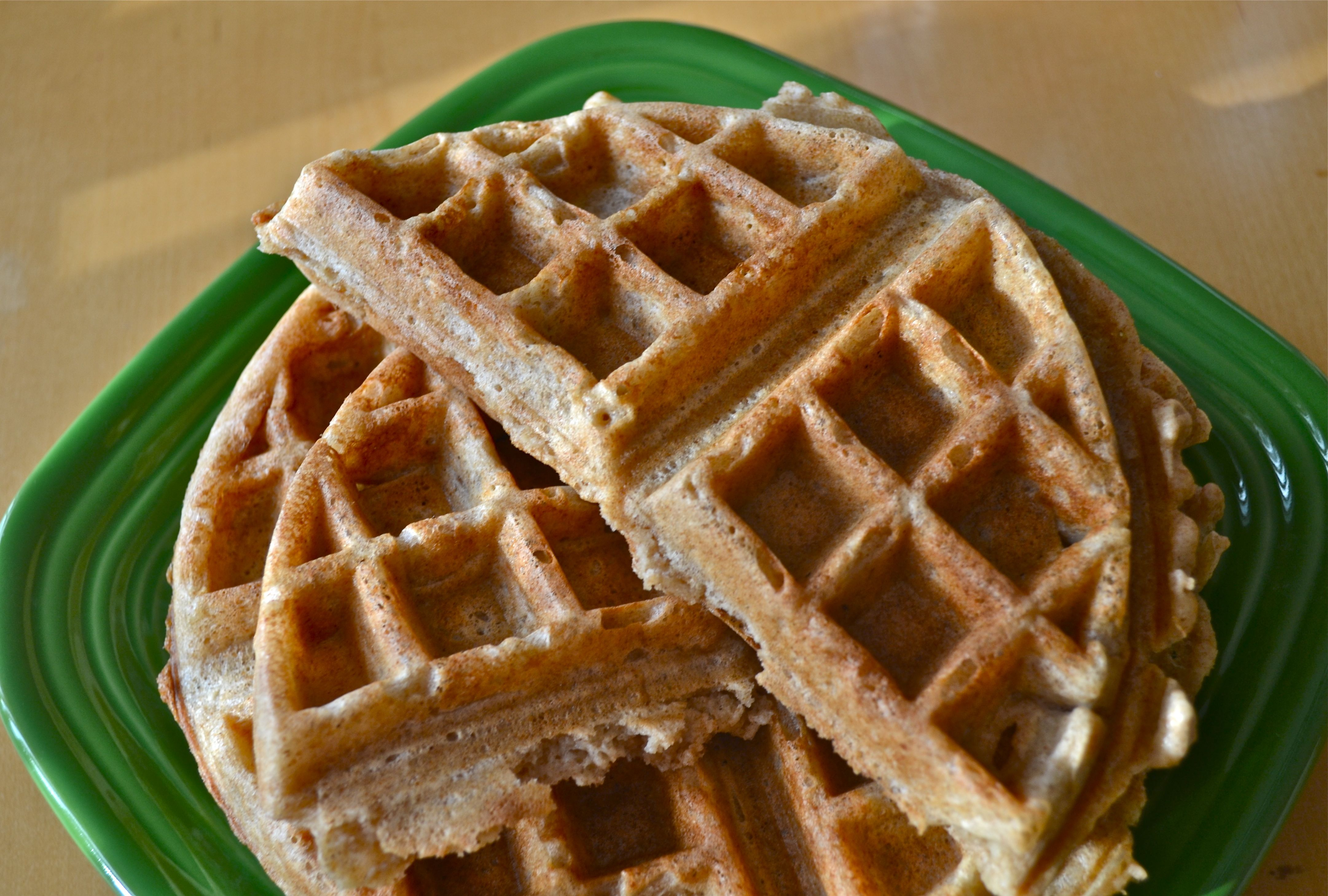 ... Whole Grain Waffles - Badger Girl Learns to Cook by Kimberly Aime