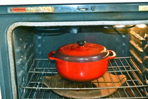 chili made in the oven