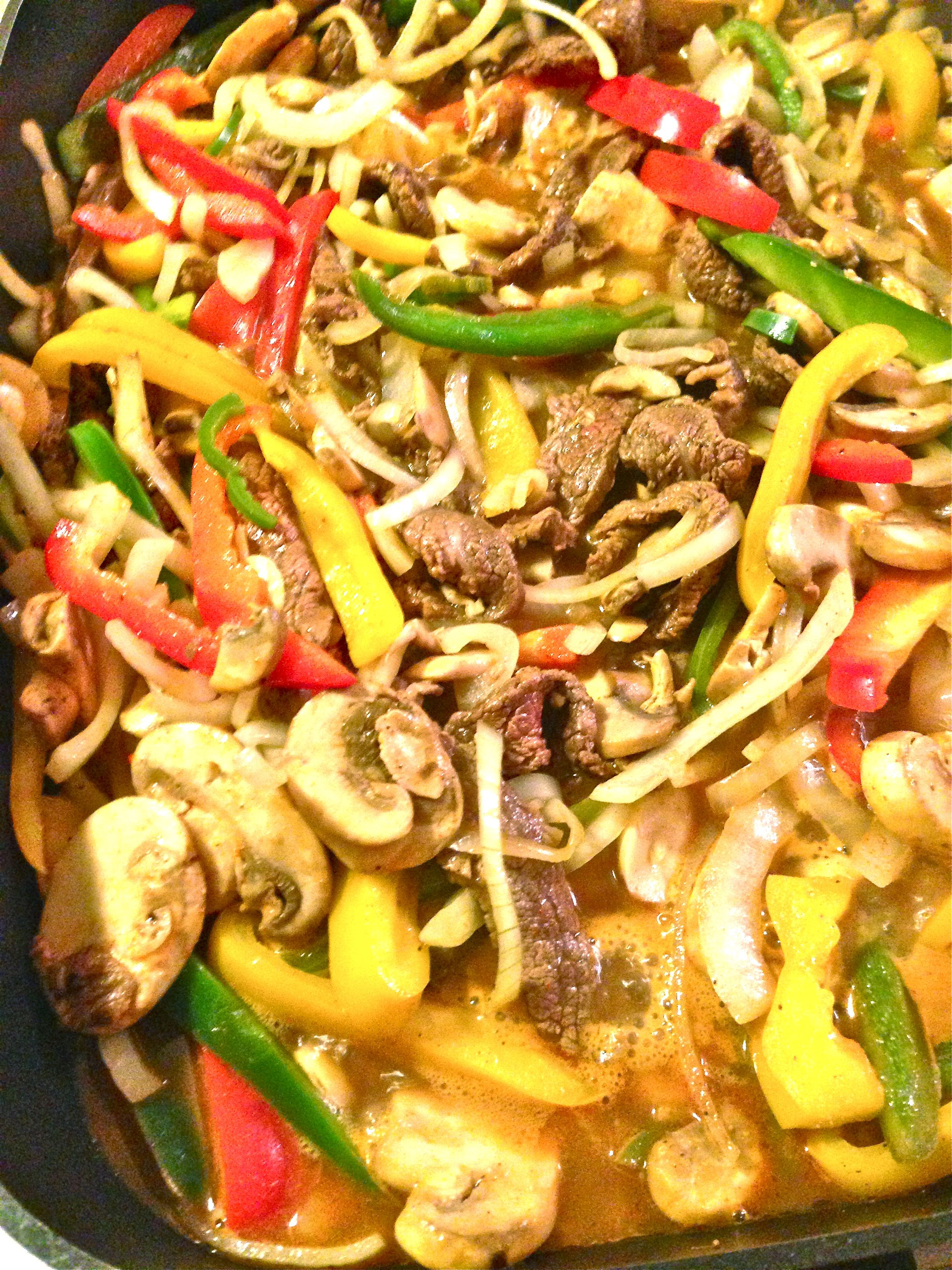 Badger Girl Learns to Cook by Kimberly Aime Spicy Steak Fajitas: Take ...