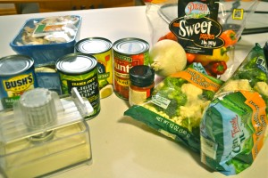 ingredients for comfort curry