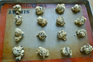 Choc Chip Cookie Dough on Sheet1