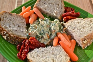 clean eating crmys spinach dip01