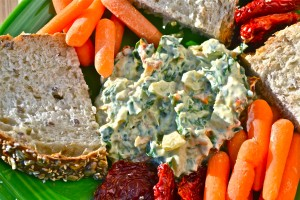 clean eating crmys spinach dip04
