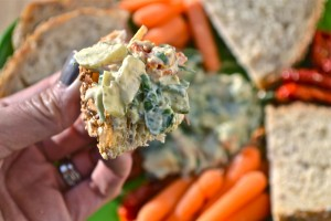 clean eating crmys spinach dip07