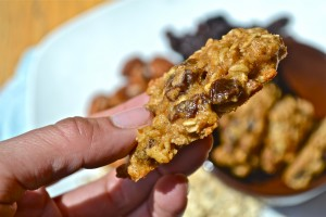 Oatmeal raisin pecan cookies7